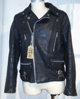 80's Double Leather Jacket