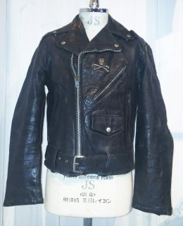 60's~70's US Leather Jacket
