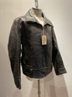40's Policeman Leather Jacket