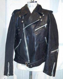 80's MEDE IN Sweden JOFAMA double riders jacket DESTRUC-JACKET