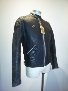 70's Highwayman Leather Jacket