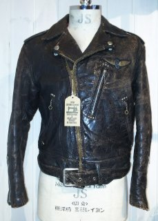 50's Willam barry studs double riders jacket