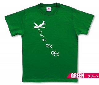 爆撃棒人間 Tシャツ