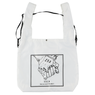 THE HAND ECO BAG_White<img class='new_mark_img2' src='https://img.shop-pro.jp/img/new/icons12.gif' style='border:none;display:inline;margin:0px;padding:0px;width:auto;' />