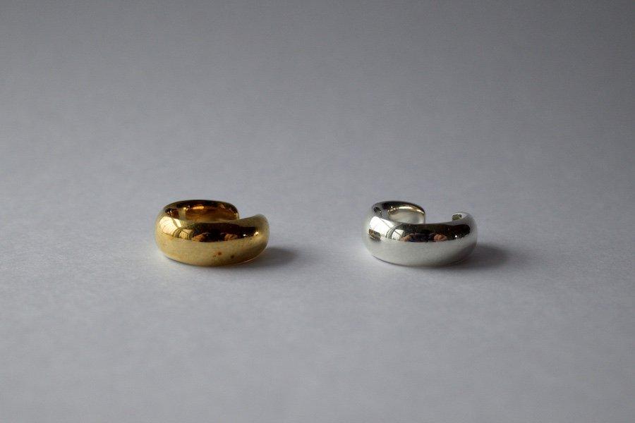 艶やかなイヤーカフ /  銀・真鍮