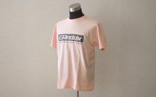 【ONLINE SHOP限定】GReddy ボックスロゴ Tシャツ ライトブルー/ライトピンク