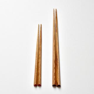 三角箸 栗(短)