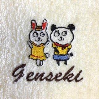 なかよしアニマル 刺繍ハンカチ