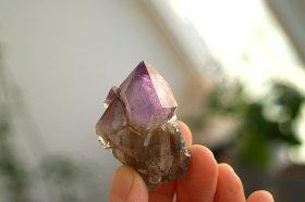 カリフォルニアアメジスト原石セプター&スモーキー