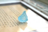 天然ブルートパーズ(ジンバブエ)結晶原石6g