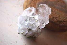 イタリアアルプス・モンブラン水晶 High Quality原石41gエピドート入り