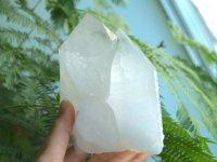 ホワイトテンプル・白い聖堂™(アーカンソー白水晶)原石 911gレコードキーパー&セルフヒールド