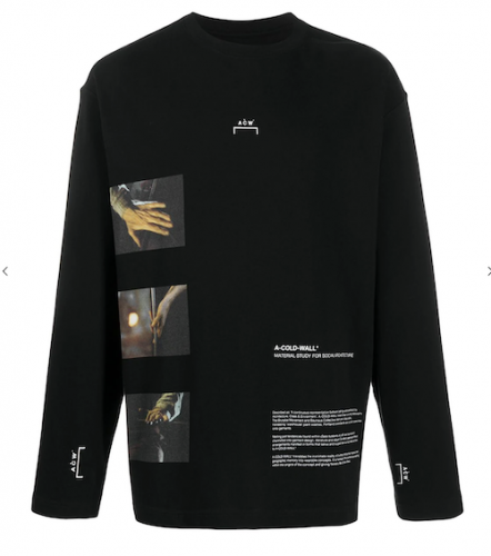 A COLD WALL / GLASS BLOWER LONG SLEEVE TSHIRT