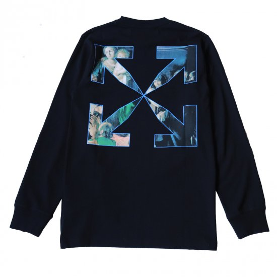OFF-WHITE c/o VIRGIL ABLOH™ / CARAVAGIO PAINTING L/S TEE