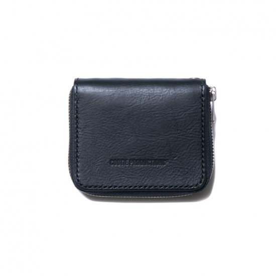 COOTIE / LEATHER ZIP-AROUND WALLET