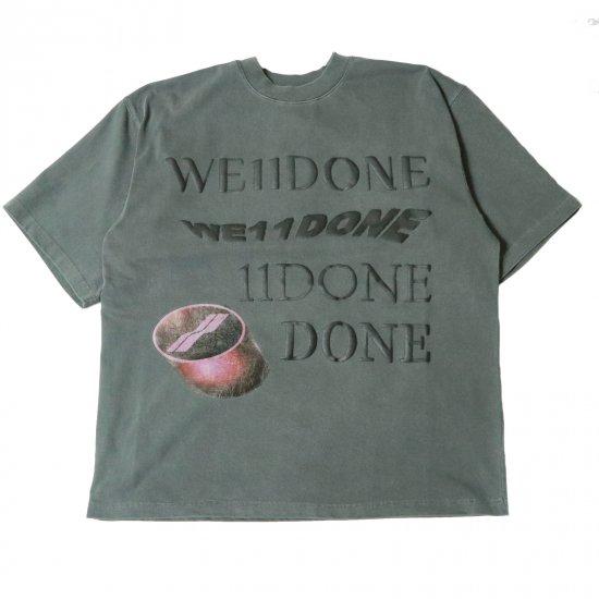 WE11DONE / WASHED LOGO T-SHIRT