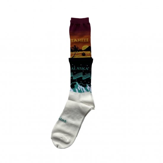 doublet / 2 LAYERED SOCKS
