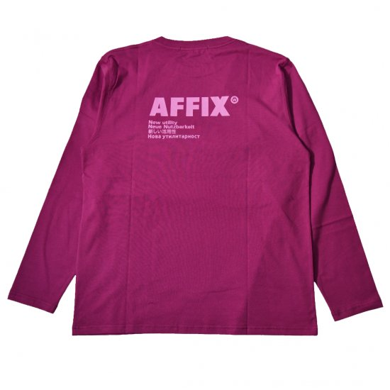 AFFIX / STANDARDISED LOGO LONG SLEEVE T-SHIRT