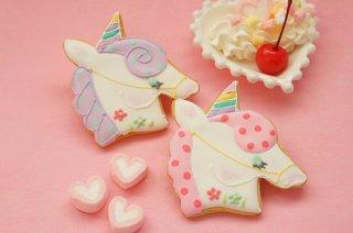 ユニコーン アイシングクッキー