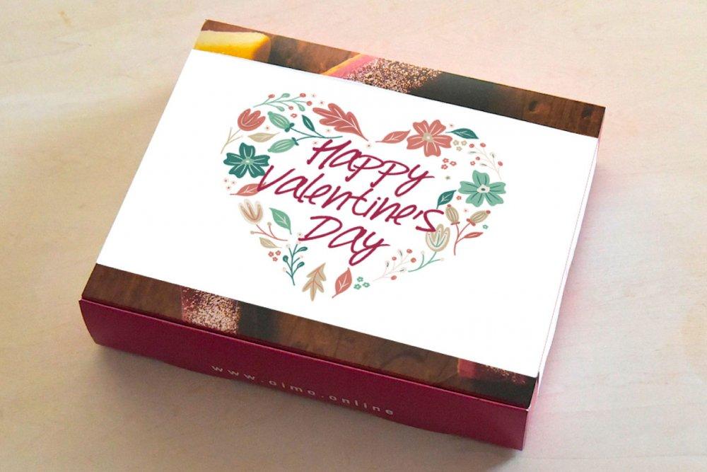 【お届け2/8-2/13限定】<br />バレンタインの4個ボックス