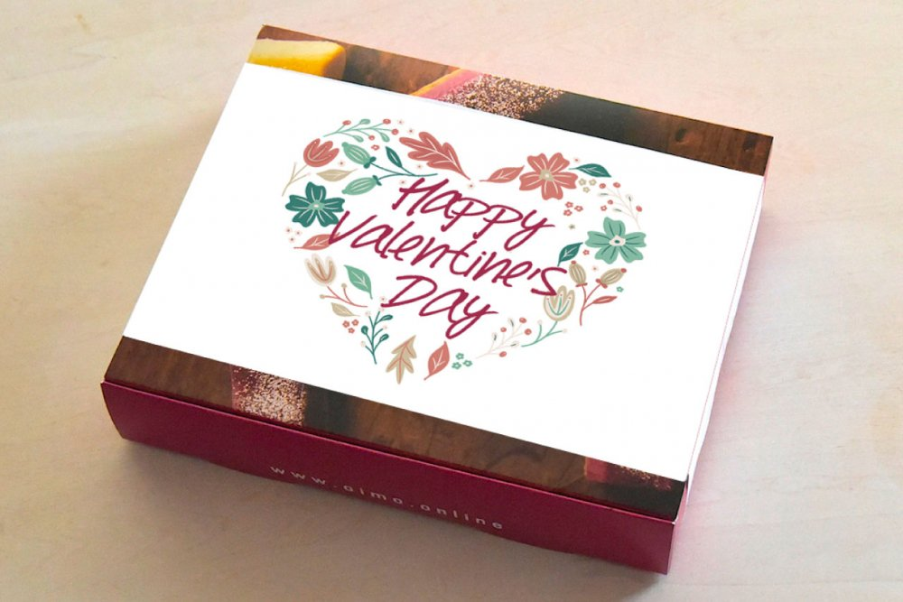 【お届け2/8-2/13限定】<br />バレンタインの6個ボックス