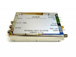 5600MHz帯トランスバーターユニット−ISDB-T用