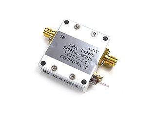 広帯域アンプユニット 300MHz〜8GHz LPA-G39WD<img class='new_mark_img2' src='https://img.shop-pro.jp/img/new/icons20.gif' style='border:none;display:inline;margin:0px;padding:0px;width:auto;' />