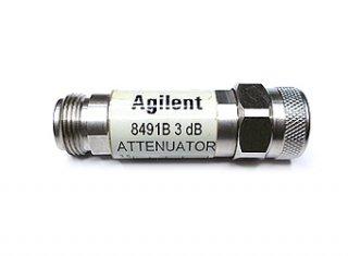高周波同軸アッテネーター 3dB 8491B 18GHz 中古 HP/Agilent