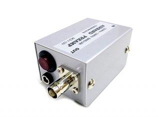 航空無線受信用プリアンプ ケース入り 122〜136MHz帯