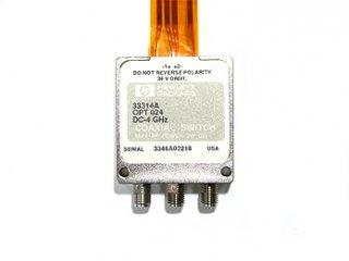 高周波同軸リレー HP 33314A SPDT 中古