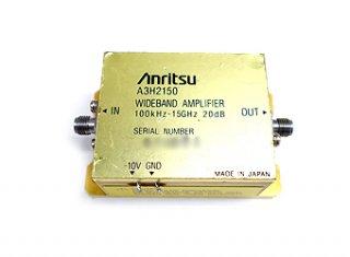超広帯域パワーアンプ  100KHz〜15GHz A3H2150 中古 アンリツ