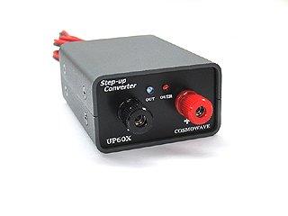 昇圧コンバーター 完成品 6V→12V 2A UP60X-DC12V