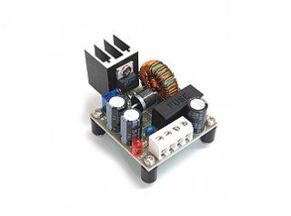 昇圧コンバーター パーツ実装基板12V→13.8V〜24V