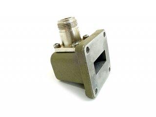 高周波 同軸-導波管変換 HP X281A 中古2