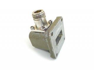 高周波 同軸-導波管変換 HP X281A 中古