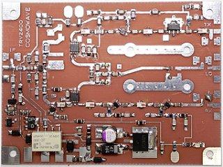 2400MHz帯トランスバーター パーツ実装基板
