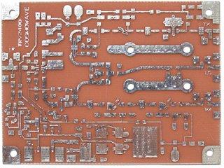 2400MHz帯トランスバーター基板