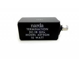 ダミーロード MODEL4375GM 18GHz 10W 中古 narda