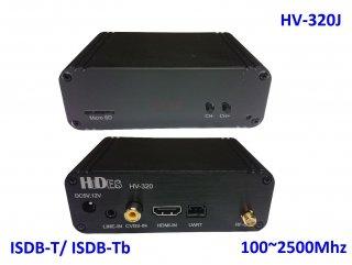 ISDB-T 変調機 HV-320J アマチュアDATV用 Full HD  modulator