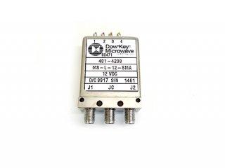 高周波同軸リレー Dow-Key Microwave 18GHz DC12V 中古