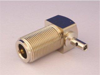 N-1.5DL-P 1.5D-2V 1.5D-QEV RG316等 同軸ケーブル用 Nメス・モービルコネクター