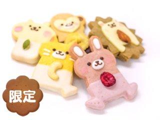 ★季節限定★チョコレートアニマルクッキープチギフト(5枚入)