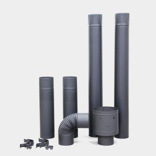 ステンレス製煙突部材8点セット (煙突径Φ106mm)