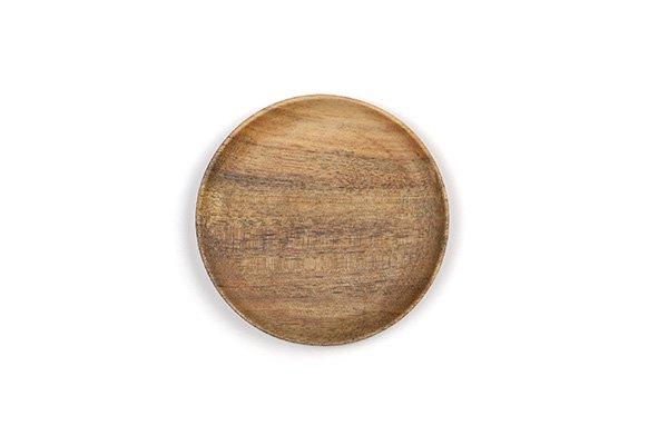 豆皿 シルバーハート材 M