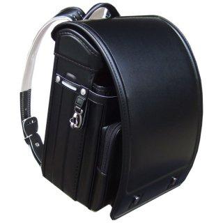 東京屋オリジナルクラリーノ®F フィットちゃん®ランドセル《シンプル&キューブ型》  ブラック/ブラック