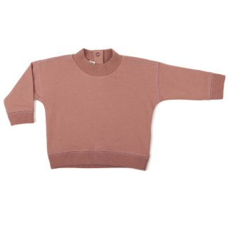 phil&phae / Baby rib-neck sweater / dusty blush