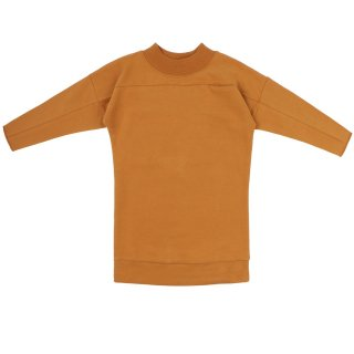 <img class='new_mark_img1' src='https://img.shop-pro.jp/img/new/icons20.gif' style='border:none;display:inline;margin:0px;padding:0px;width:auto;' />phil&phae / Rib-neck sweater dress / gold ochre