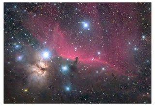 馬頭星雲 天体写真プリント(A4サイズ安価版)