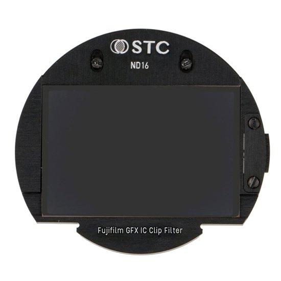 STC 富士フィルム GFX Gマウント用 NEWクリップフィルター(ND16)