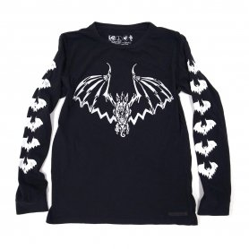 <img class='new_mark_img1' src='https://img.shop-pro.jp/img/new/icons20.gif' style='border:none;display:inline;margin:0px;padding:0px;width:auto;' />LE EViL BAT L/S Pocket Tee